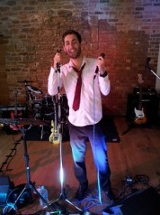 our talented wedding band singer
