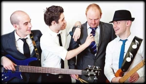 live wedding band entertainment from four on the floor