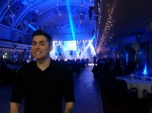 performing live at the capula awards night
